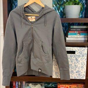 Cozy, fitted fleece hoodie